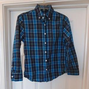 Boys Casual Dress Shirt Sz M